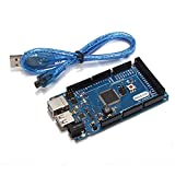 Mega ADK R3 ATmega2560 Module Compatible ADK With USB Cable - Compatible SCM & DIY Kits Module Board - 1 x Compatible Arduino Mega ADK R3, 1 x USB cable