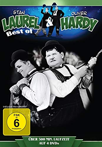 Stan Laurel & Oliver Hardy - Best of (20 Filme) (4 DVDs)