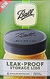 Ball Mason Jar Lids - Regular Mouth (Mason Jar Caps) - Leak Proof (Standard)