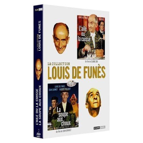 L'Aile ou la cuisse / La Soupe aux choux / 2 DVD set / REGION 2 PAL / FRENCH ONLY OPTIONS ~ Louis De Fun??s