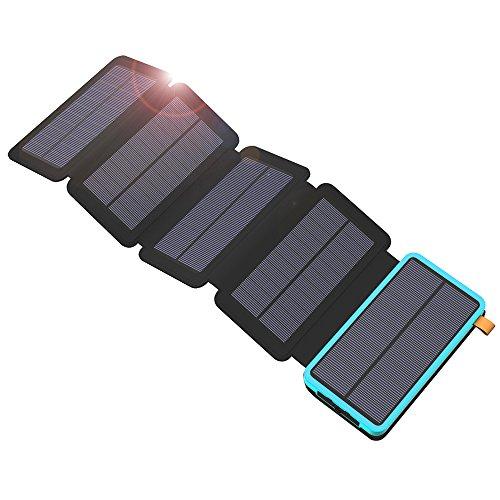 X-DRAGON 20000 mAh avec 5 Panneaux Solaires