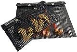 duokon bbq grill mesh bag antiaderente bbq bake bag resistente al calore mesh grilling bag attrezzo picnic all'aperto(l)