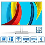 Preedip 23.8-inch 1920x1080 FHD All in One Desktop Computer with Intel i5-6400 & Pre-Installed Windows 10,8GB DDR3 256GB ROM AIO PC Support Bluetooth 4.2 and 2.4G/5.0G Dual Band WiFi