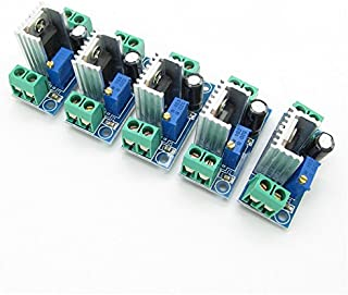 JIUWU DC Linear Converter Buck Step Down LM317 Power Supply Module for DIY Pack of 5