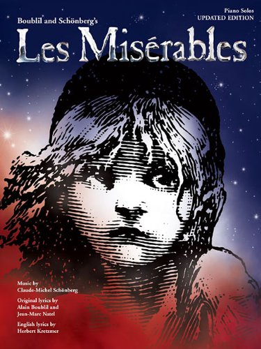 Les Miserables Piano Solos 2012 Revised Edition
