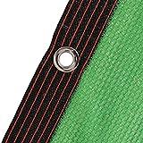 HWLL Malla Sombreo Paño de Vela de Sombra Verde con Ojales, 85% Red Solar Antienvejecimiento Resistente a Los Rayos UV, Lona de Malla de Sombra de Jardín para Planta/Invernadero/Patio/Perrera