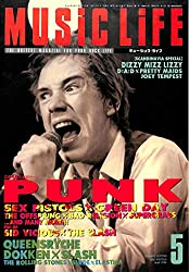 MUSIC LIFE (ミュージックライフ) 1995年5月号 立体特集 PUNK SEX PISTOLS x GREEN DAY THE CLASH QUEENSRYCHE DOKKEN  x SLASH