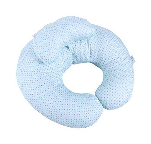 multifonction post-partum Coussin de maternité Blue Wave point Oreiller d'allaitement