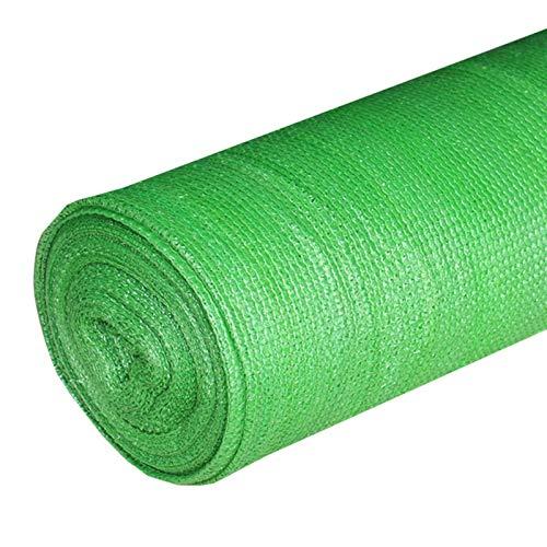 YXX Sombra Solar Malla Verde Invernadero Plantas Rodar Paño De Sombra, Red De Sombra A Prueba De Viento con Protección UV del 95% para Cercas De Jardín, Glorietas, Balcones Y Graneros