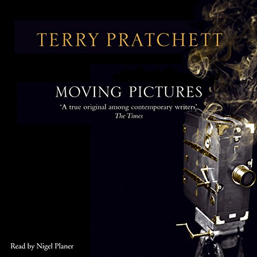 Moving Pictures                   By:                                                                                                                                 Terry Pratchett                               Narrated by:                                                                                                                                 Nigel Planer                      Length: 10 hrs and 8 mins     72 ratings     Overall 4.7