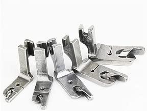 LNKA 5 Fixed HIGH Shank Scroll Hemmer FEET Foot Set for Juki DDL-5550,DDL- 8300