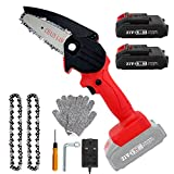 Best Chainsaws - Mini Chainsaw with 2 Batteries & 2 Chains Review