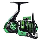 Carrete de pesca Spinning 13BB 1000-7000 Series Carrete de pesca de metal giratorio intercambiado con rueda de mano izquierda/derecha