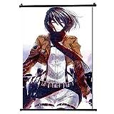 Attack on Titan Japan Anime Póster de desplazamiento Formato 30x45cm (12x18in)