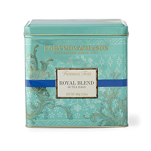 Fortnum & Mason Royal Blend Tea 50 Tea Bags in Tin