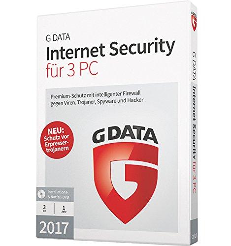 Preisvergleich Produktbild G DATA Internet Security 2017 für 3 PC