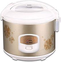 CHB Rijstkoker van 3,0 liter, met stoompan, 500 W, non-stick binnenpot, automatisch koken, eenvoudige reiniging tegen hoge...