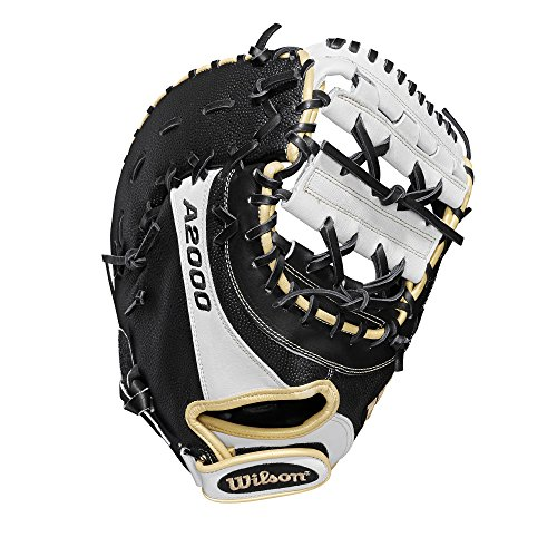 Wilson A2000 FP1B SuperSkin 12' First Base Fastpitch Mitt - Right Hand Throw