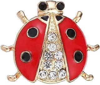 Diamanti Spille Coccinella Accessori Abbigliamento