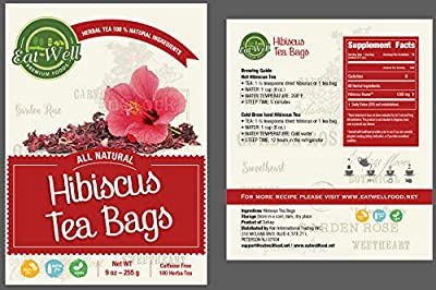 Hibiscus Tea Bags 100