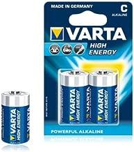 Varta High Energy C Cell Battery 2 Pack
