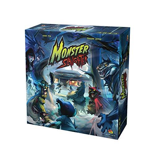 LAST LEVEL Monster Slaughter Castellano, Multicolor (BGMONSTERSL)