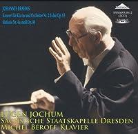 Brahms Piano Concerto No.2 (W.Michel Beroff Piano) / Symphony No.4. (Staatskapelle Dresden/ Eugen by VARIOUS ARTISTS