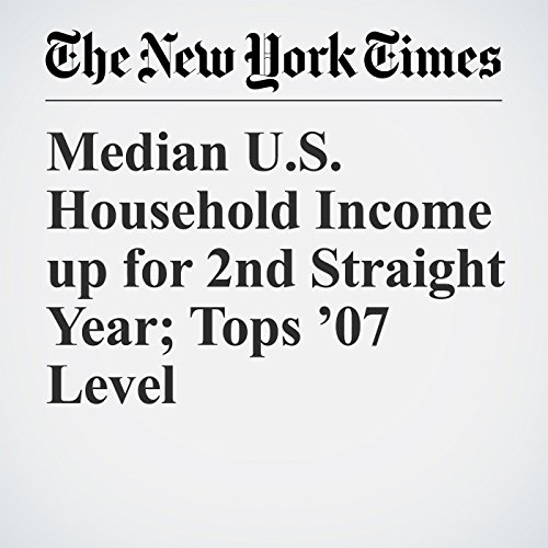 Median U.S. Household Income up for 2nd Straight Year; Tops '07 Level copertina