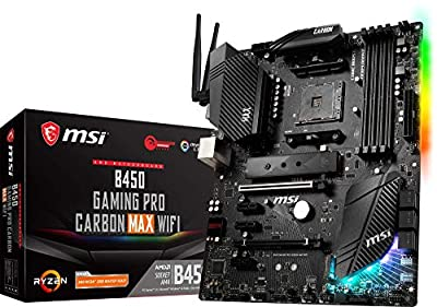 MSI B450 GAMING PRO CARBON  MAX WIFI (Socket AM4/B450/DDR4/S-ATA 600/ATX)