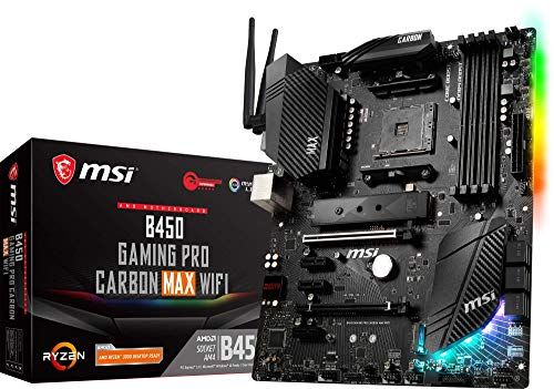 MSI Scheda Madre B450 Gaming PRO Carbon Max WiFi