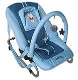 Asalvo Space - Hamaca para bebés, color azul