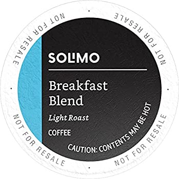 100-Count Solimo K-Cup Coffee Pods (Breakfast Blend)