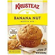 Krusteaz Banana Nut Muffin Mix, 15.4-Ounce Box