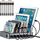 Simicore Smart Charging Station Dock & Organizer for Smartphones,...