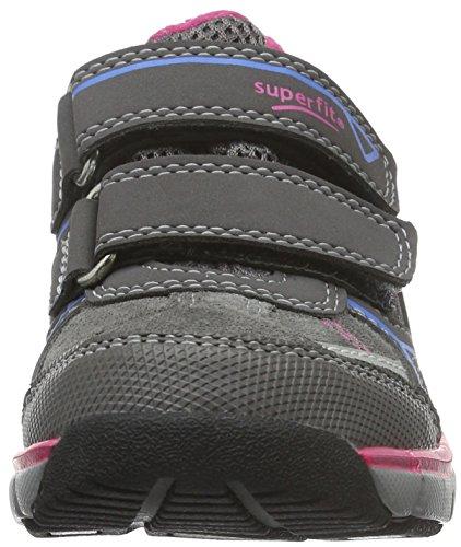 Superfit LUMIS 700411, Mädchen Sneakers, Grau, 32 EU - 5