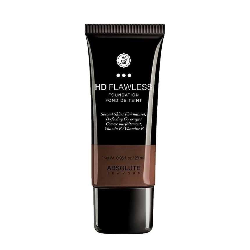 巻き取りアジテーション誓う(3 Pack) ABSOLUTE HD Flawless Fluid Foundation - Espresso (並行輸入品)