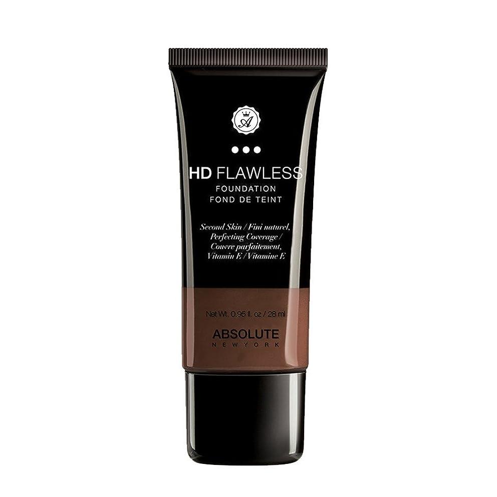 理容室冊子顔料(3 Pack) ABSOLUTE HD Flawless Fluid Foundation - Espresso (並行輸入品)