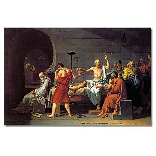Arte clásico renacentista pintura al óleo sobre lienzo Cuadros carteles e impresiones escandinavo cuadro de arte de pared decoración del hogar