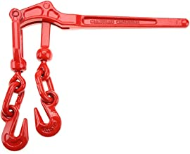 "Load Binder, Load Binder Pull Lever 1/4-5/16"" Chain Hook Tie Down Rigging Equipment"