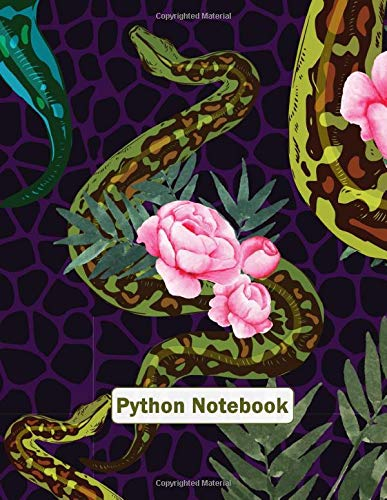 Python Notebook: Earth Note Series - Cute Python Pet Snake Journal For Snake Lover| Serpent Notebook 8.5X11 120 Page Lined Paper with Snake Silhouette ... Wild Animal, Pet Animal - Earth Note Series)