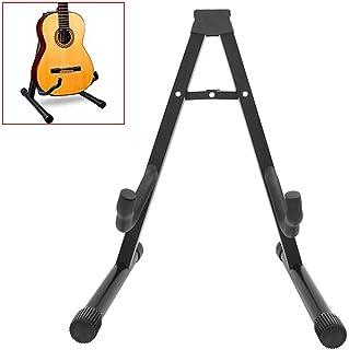 OcioDual Soporte Universal Plegable de Suelo Ajustable Compatible con Todas Las Guitarras Acustica Electrica Española Forma-A