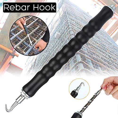 Moent Wire Twister Rebar Tie Wire Twister Automatisches Beton-Metalldraht-Drehzaunwerkzeug 300 mm