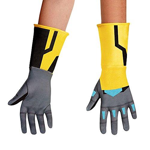 Bumblebee Animated Gloves , One Size Child