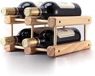 Logo TLF-FF Sólido de Vino de Madera del Estante de Madera Creativo de Bastidores de Vino Puede ser ensamblado Simple 23x2...