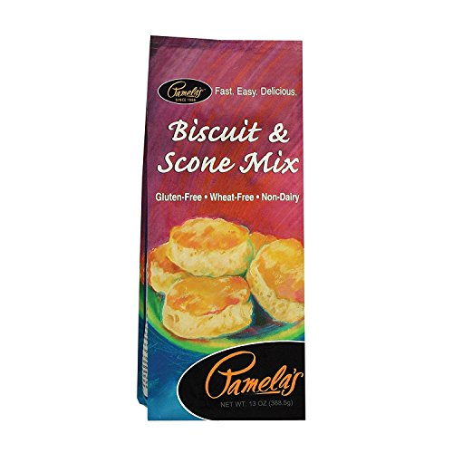 Pamelas Biscuit and Scone Mix, 13 Ounce - 6 per case.