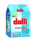 dalli® med Vollwaschmittel-Pulver I 18 Waschladungen I speziell geeignet bei Allergien und empfindlicher Haut   weiße Wäsche   1,215 kg