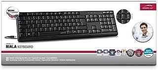 SL-640001-BK-US-AR NIALA Keyboard USB black