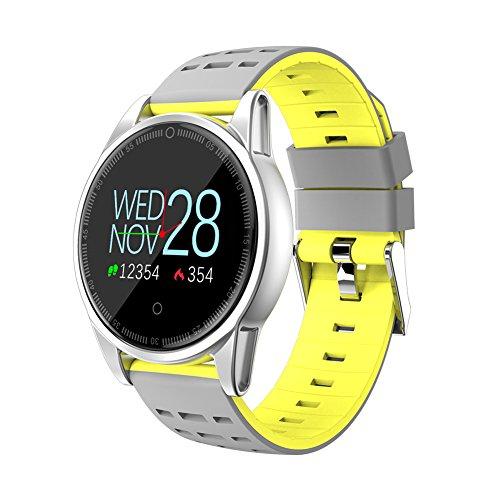 Teckey Bluetooth Montre Connectée Bracelet Connectée Fitness Tracker d'Activité Cardiofréquencemètre Etanche IP67 Smartwatch Cardio Podomètre Sport Smart Watch Band pour Femme Homme Enfant