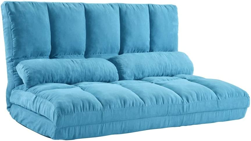 Thick floor Overseas parallel import regular item Max 63% OFF double recliner foldable leisure flo bed sofa