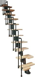Arke Karina Modular Staircase Kit in Black